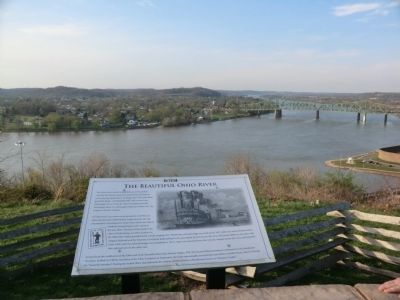 The Beautiful Ohio River Marker image. Click for full size.
