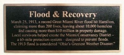 Flood & Recovery Marker image. Click for full size.