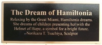 The Dream of Hamiltonia Marker image. Click for full size.