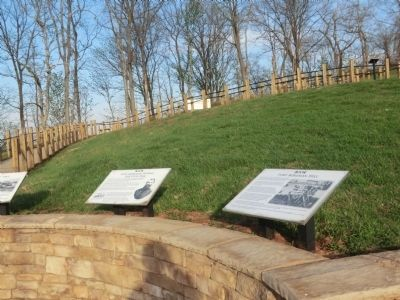 Fort Boreman Hill Marker image. Click for full size.