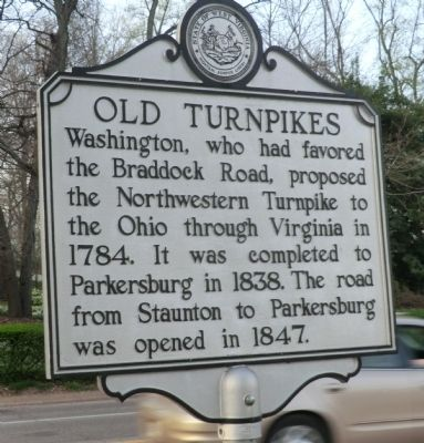 Old Turnpikes Marker image. Click for full size.