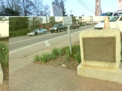 The Toll House Marker image. Click for full size.