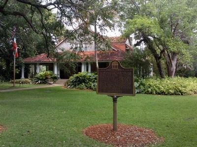Coral Gables Merrick House Marker image. Click for full size.