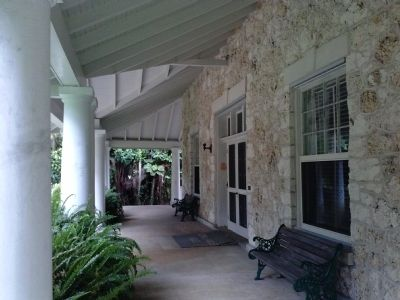 Merrick House front porch image. Click for full size.