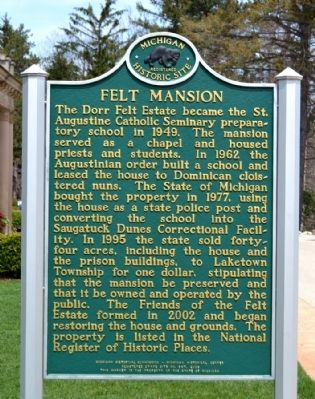 Felt Mansion Marker image. Click for full size.