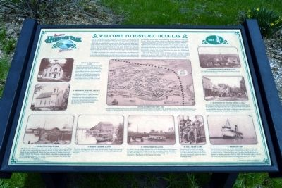 Welcome to Historic Douglas Marker image. Click for full size.