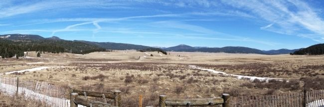 Valles Caldera Panorama image. Click for full size.