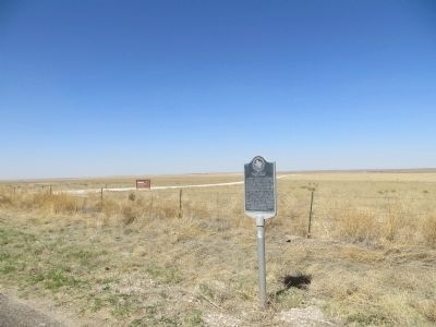 Muleshoe National Wildlife Refuge Marker image. Click for full size.