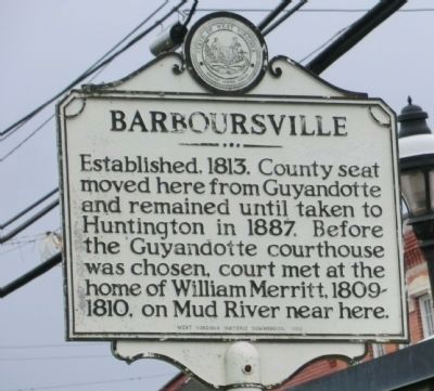 Barboursville Marker image. Click for full size.