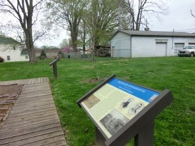 Battle of Guyandotte Marker image. Click for full size.