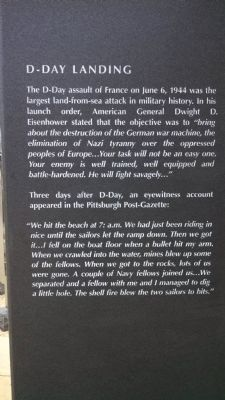 D-Day Landing image. Click for full size.