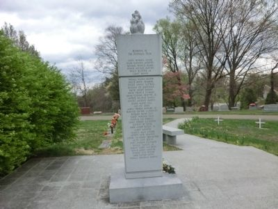 Marshall Memorial Marker image. Click for full size.