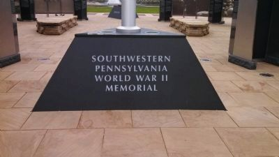Southwestern Pennsylvania World War II Memorial image. Click for full size.