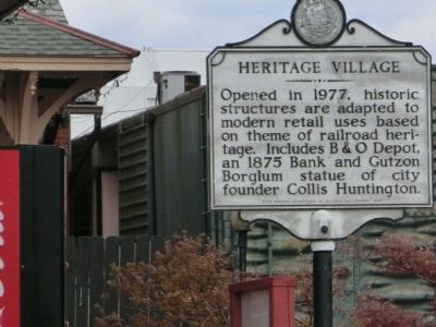 Heritage Village face of marker image. Click for full size.