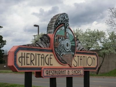 Heritage Village Marker image. Click for full size.