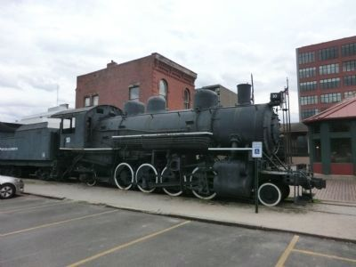 B&O Locomotive #10 image. Click for full size.
