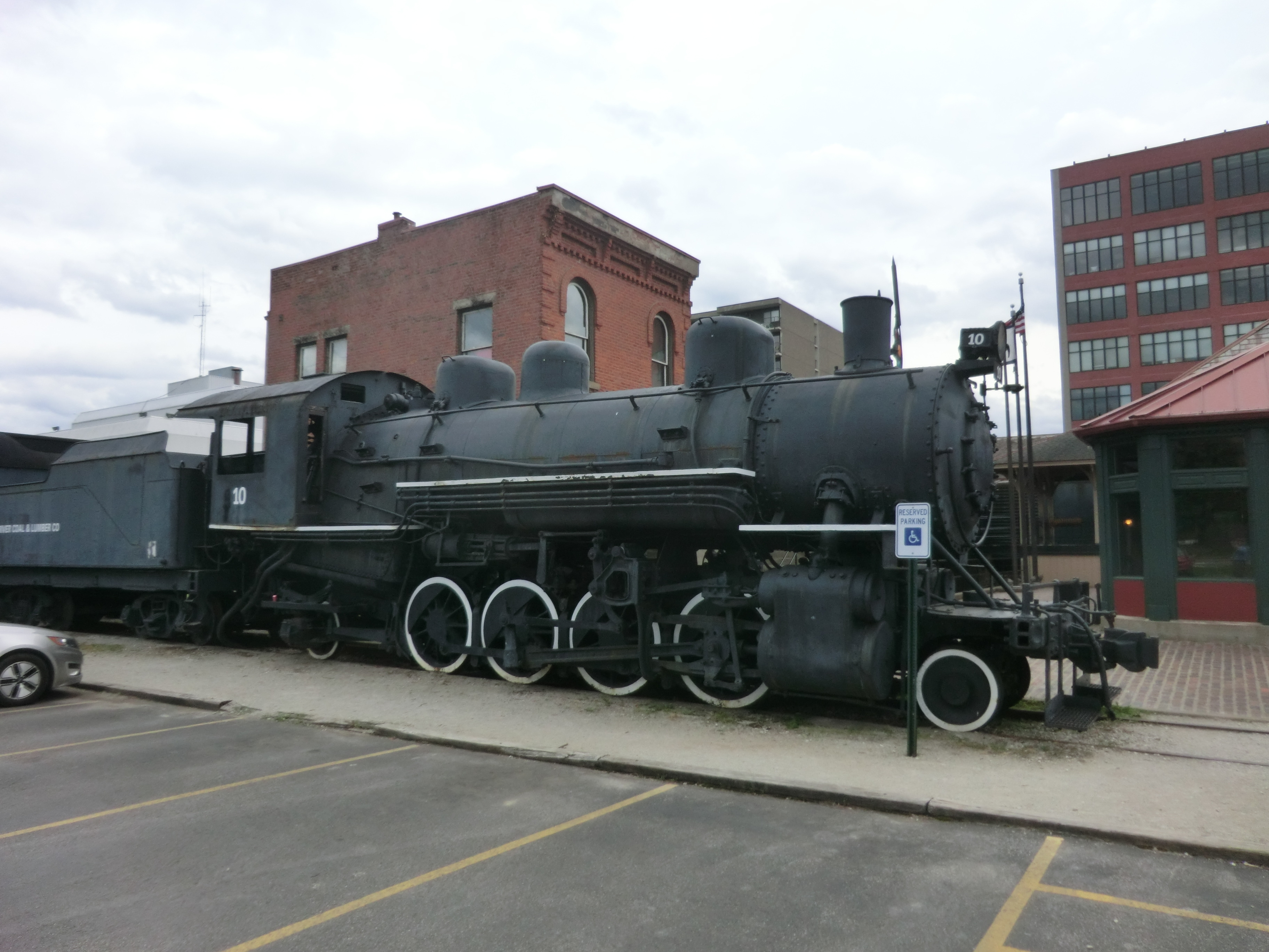B&O Locomotive #10