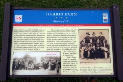 Harris Farm Marker image. Click for full size.