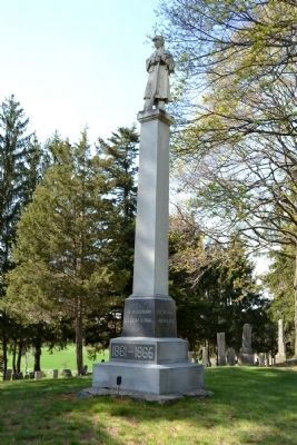 Otsego Civil War Memorial image. Click for full size.