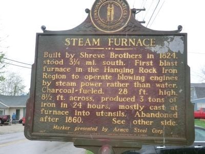 Steam Furnace Marker image. Click for full size.