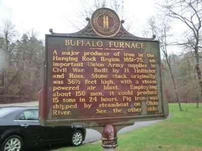 Buffalo Furnace Marker image. Click for full size.