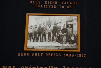 Historical Village of Hero Named in Honor of Private Jesse Taylor Marker image. Click for full size.