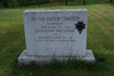 The Old Taylor Cemetery image. Click for full size.