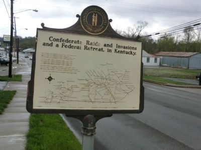 A Masterful Retreat Marker-Map on other side image. Click for full size.
