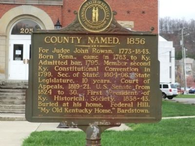 County Named, 1856 Marker image. Click for full size.