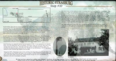 Historic Strasburg Marker Stop # 10 image. Click for full size.