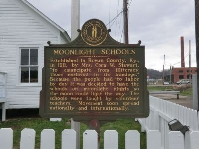 Moonlight Schools Marker image. Click for full size.
