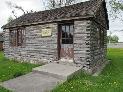 Hojack Park Tugwell Log Cabin image. Click for full size.