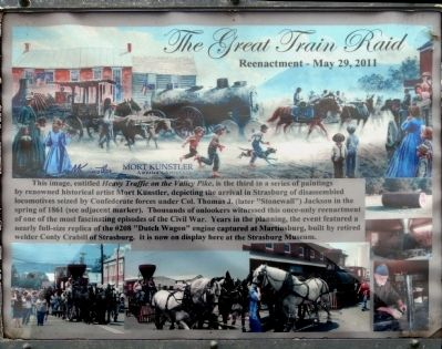 The Great Train Raid Marker image. Click for full size.