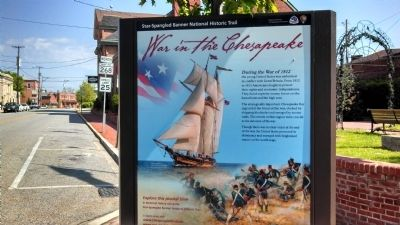 War in the Chesapeake Marker image. Click for full size.