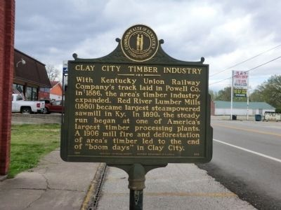 Clay City Timber Industry-Side 1 image. Click for full size.