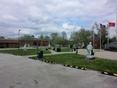 Powell County Veterans Memorial image. Click for full size.