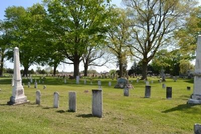 Hamilton Church Cemetery image. Click for full size.