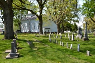 Hamilton Church and Cemetery image. Click for full size.