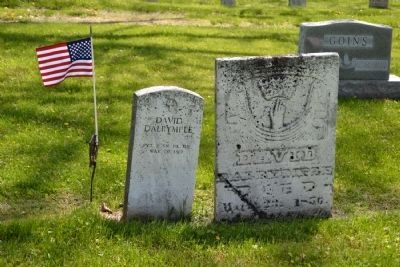 Headstones for David Dalrymple image. Click for full size.