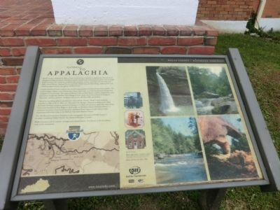 Gateway to Appalachia Marker image. Click for full size.