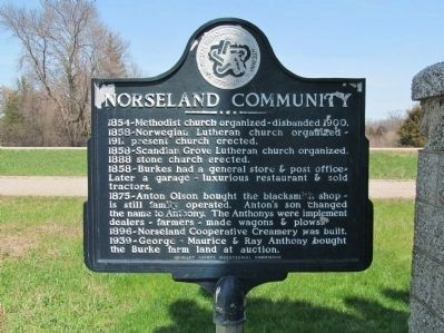 Norseland Community Marker image. Click for full size.