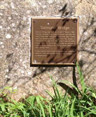 Salmond Bridge Marker image. Click for full size.