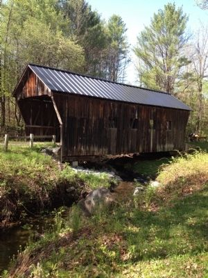 Salmond covered bridge image. Click for full size.