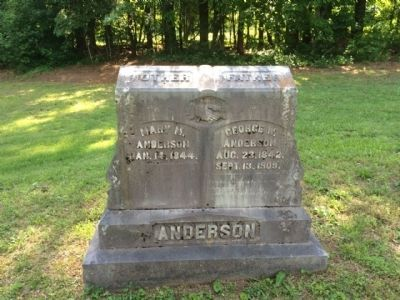 Grave of George Anderson (Area Pioneer) image. Click for full size.