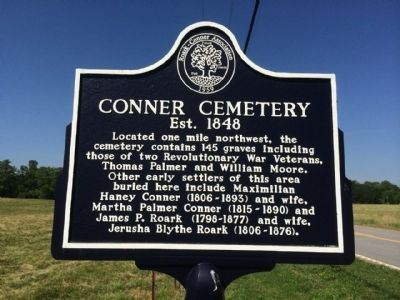 Connor Cemetery Marker image. Click for full size.