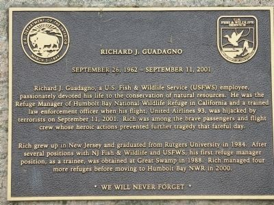 Richard J. Guadagno Marker image. Click for full size.