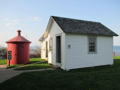 30 Mile Point Lighthouse Outbuildings image. Click for full size.