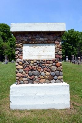 Union Flat Rock Cemetery Memorial image. Click for full size.