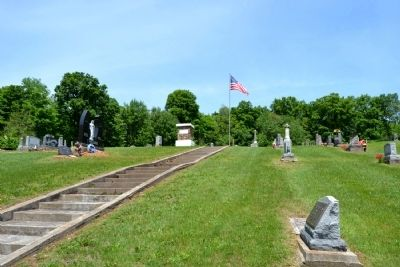 Union Flat Rock Cemetery image. Click for full size.