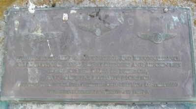U.S. Navy Patrol and Reconnaissance Memorial Marker image. Click for full size.